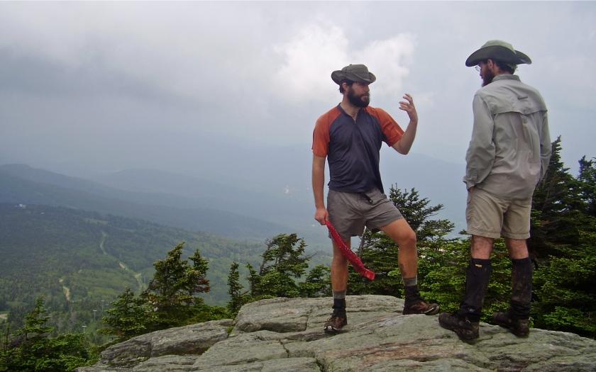 A summit on the summit