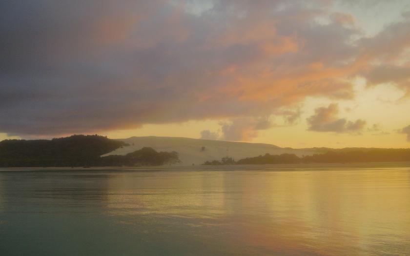 Big Sandhill, Moreton Island, dawn
