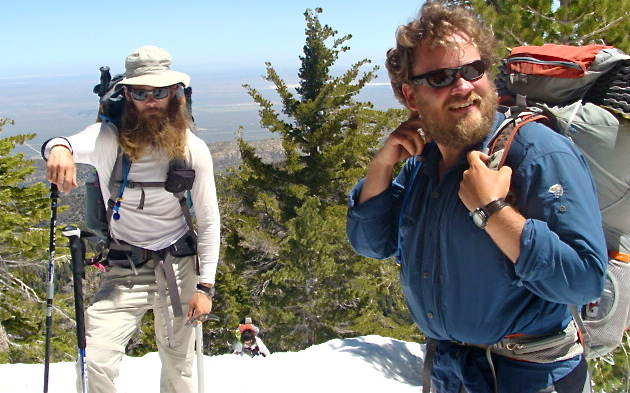 Dude & Granite ascending Baden-Powell