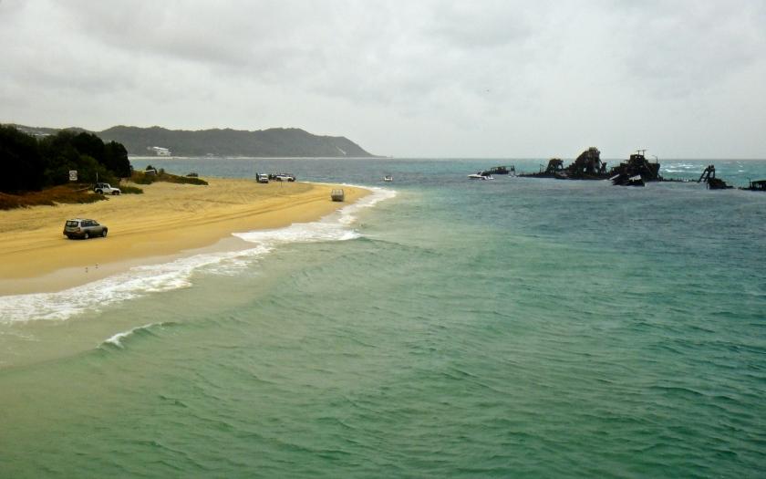 wrecks beach