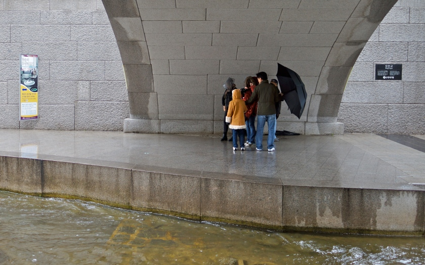 shelter under bridge