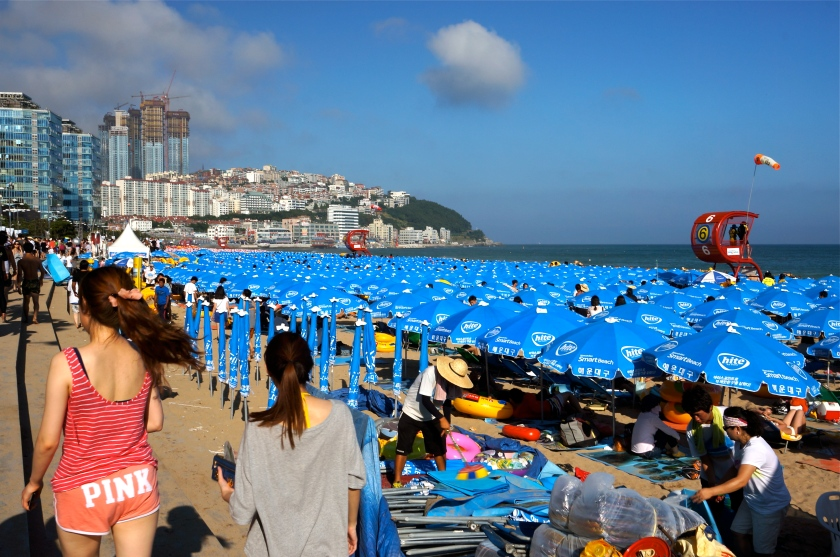 I come to to the beach to relax: Haeundae