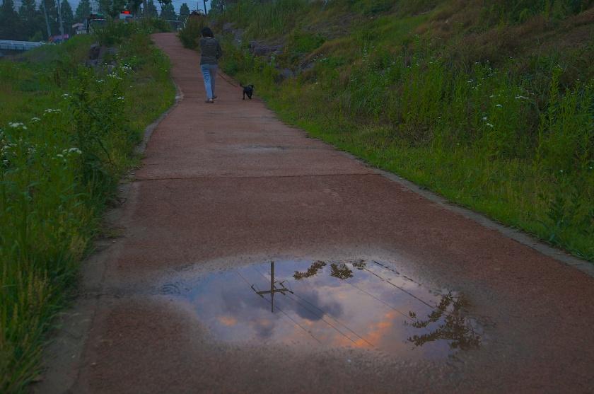 After the Rain: Dusk Along the Daecheong