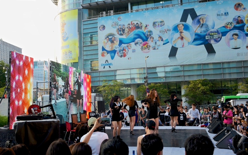 girl k-pop group cheongyecheon seoul