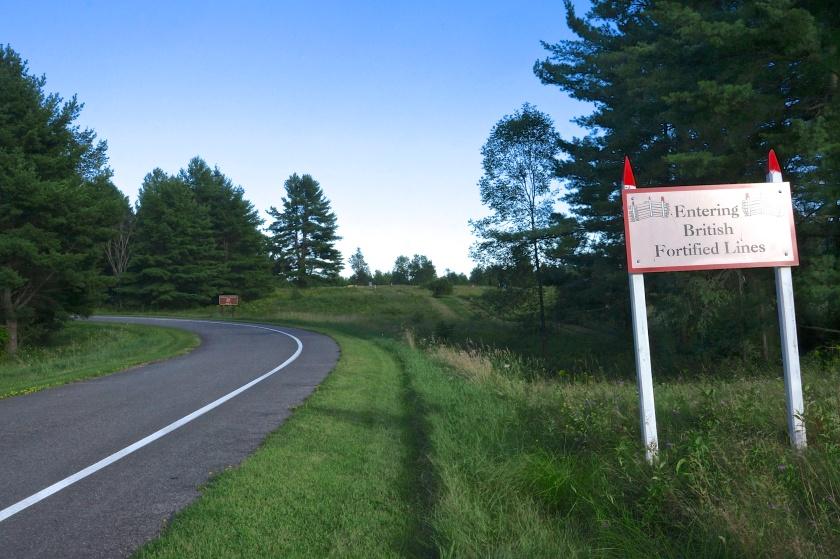 Saratoga Battlefield Monument