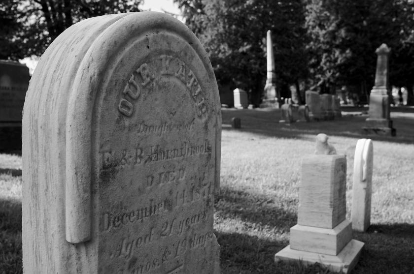 A Schuylerville Headstone