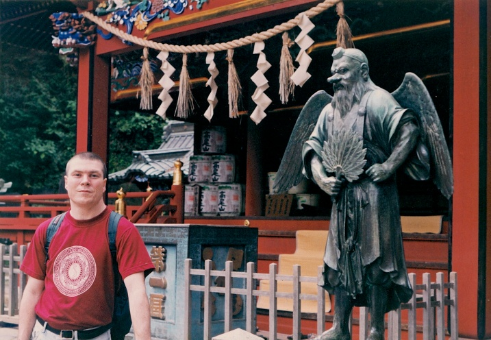 My friend Dave at Yakuo-in