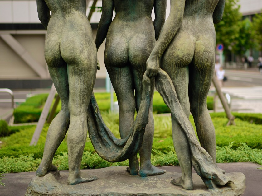 A celebration of fine green buttocks.